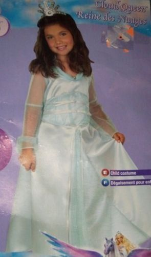 Barbie Magic of Pegaus Cloud Queen Costume SM 4-6 NEW
