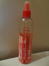 BATH & BODY WORKS  TEMPTATIONS  TWISTED PEPPERMINT SHIMMERING BODY SPLAS... - $15.49