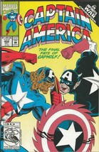 Captain America #408 ORIGINAL Vintage 1992 Marvel Comics Capwolf - $12.19