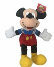 "Vintage Disney Mickey Mouse Mattel Arco Toys 14"" Plush Doll Sears - $34.64"