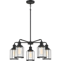 Ludlow 5-Light Chandelier in Earth Black - $319.99