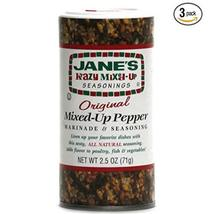 Janes Krazy Mixed Up Pepper, 2.5 oz (Pack of 3) - $19.75