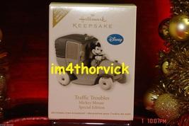 Hallmark 2012 Disney Traffic Troubles Mickey Mouse Limited Quantity Orna... - $39.99