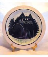 "KAREN DONLEAVY K.D. FAT CAT DINNER PLATE 10"" RARE MINT! Free Shipping! - $39.95"