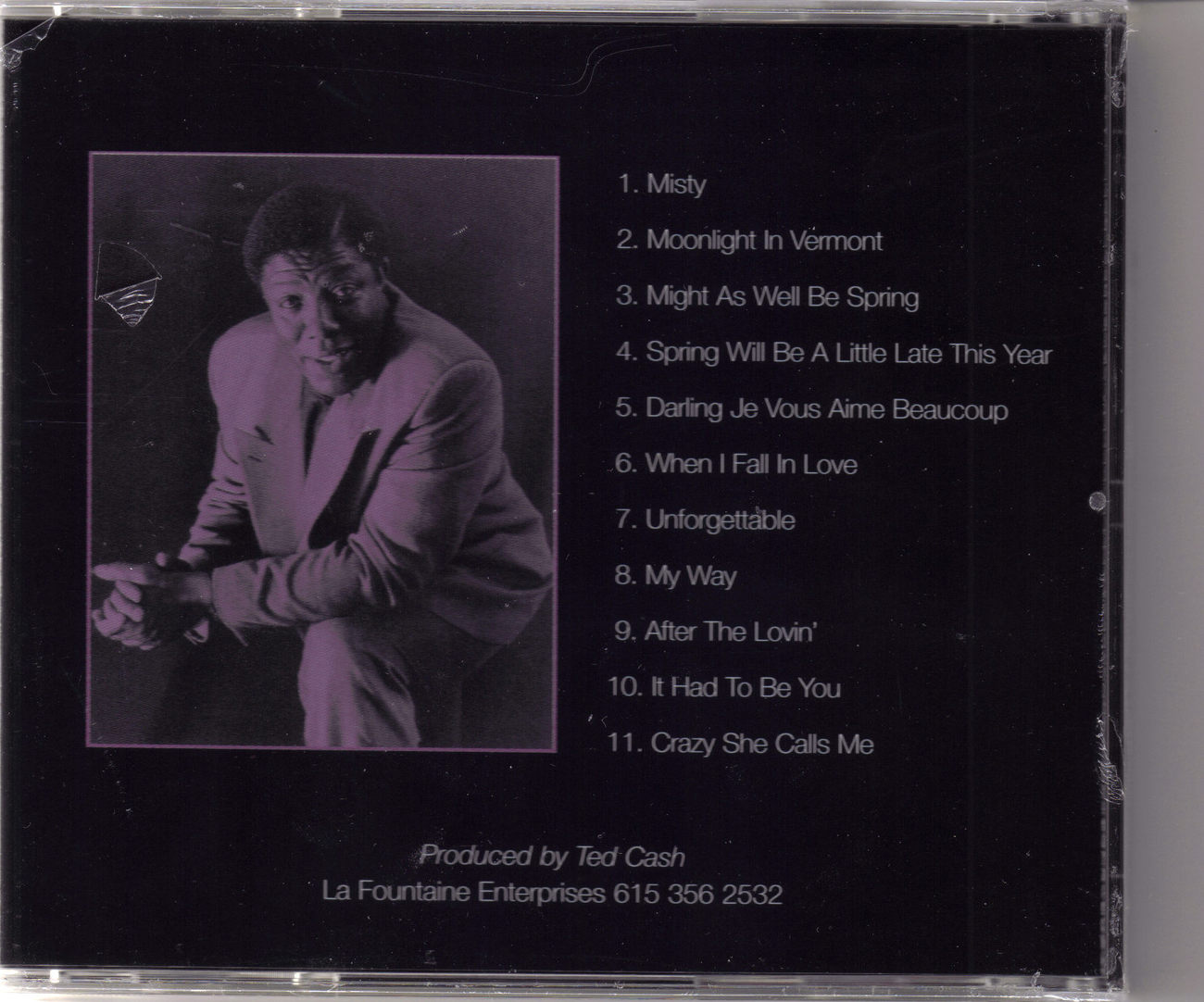 TED CASH The Quiet Storm CD
