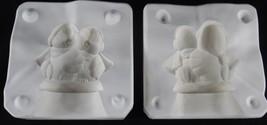 Dona's Molds HUGGY BIRD COUPLE Ceramic Mold D-137 1984 Vintage - $8.44