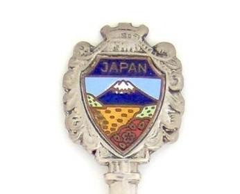 Souvenir Spoon - International - Japan
