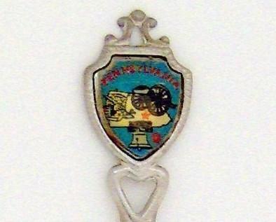 Souvenir Spoon - United States - Pennsylvania
