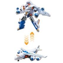 Tobot V Air Hyde Airplane Transforming Korean Action Figure Robot Toy image 2