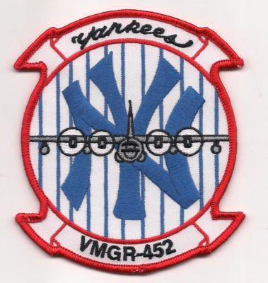 Primary image for USMC VMGR-452 Marine Aerial Refueler Transport Sq Patch