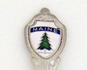 Souvenir Spoon - United States - Maine