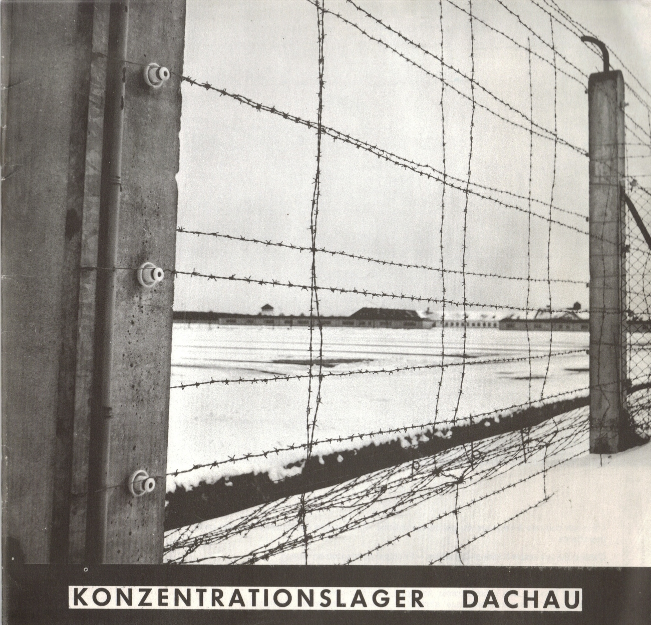 1970 Dachau Concentration Camp Pamplet