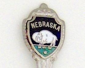 Souvenir Spoon - United States - Nebraska