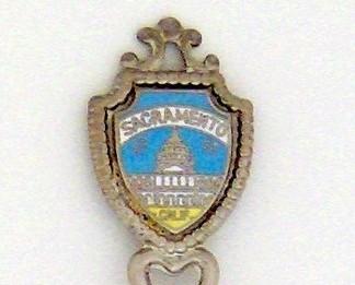 Souvenir Spoon - United States Cities - Sacramento, CA