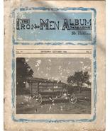 Vintage 1968 Iron-Men Album Steam Engine Magazine - $9.75