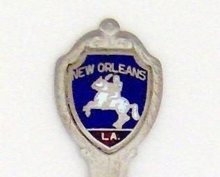 Souvenir Spoon - United States Cities - New Orleans, LA
