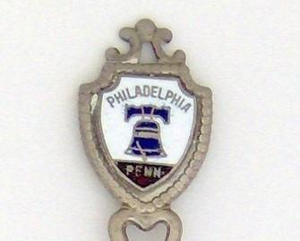 Souvenir Spoon - United States Cities - Philadelphia, PA
