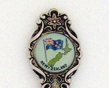 Souvenir Spoon - International - New Zealand