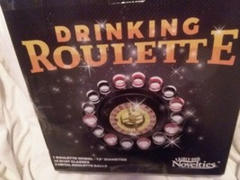 16-Shot Roulette Wheel Adult Party Game Bar Drinking Set Camping Novelty... - $14.85