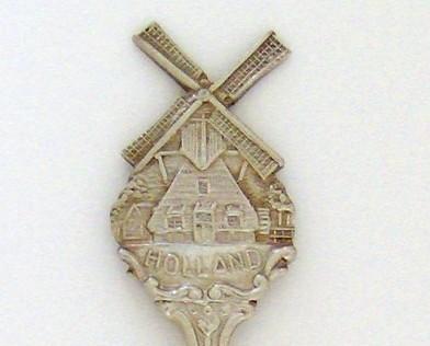 Souvenir Spoon - International - Holland