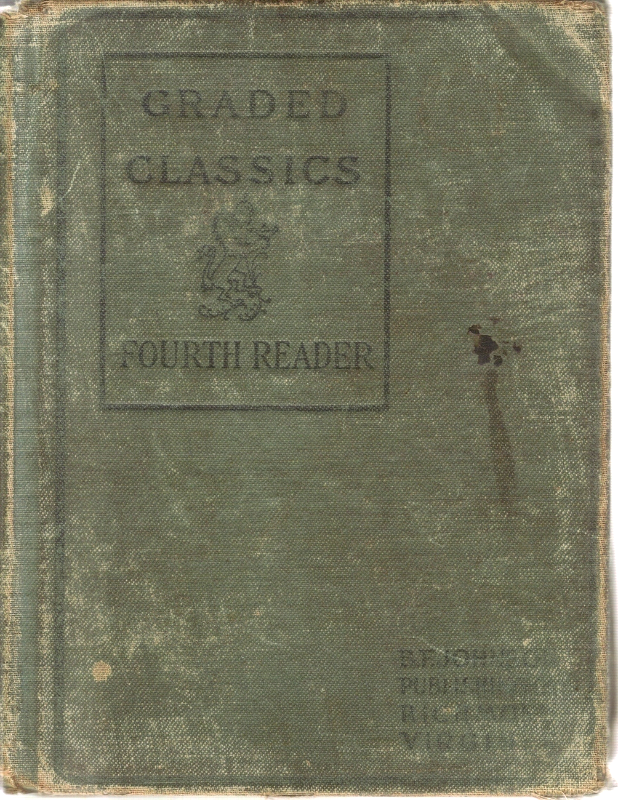 1902 Reading School Book!