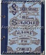 Vintage Embroidery Album Repro CrossStitch Kit Sajou Notepad - $37.99