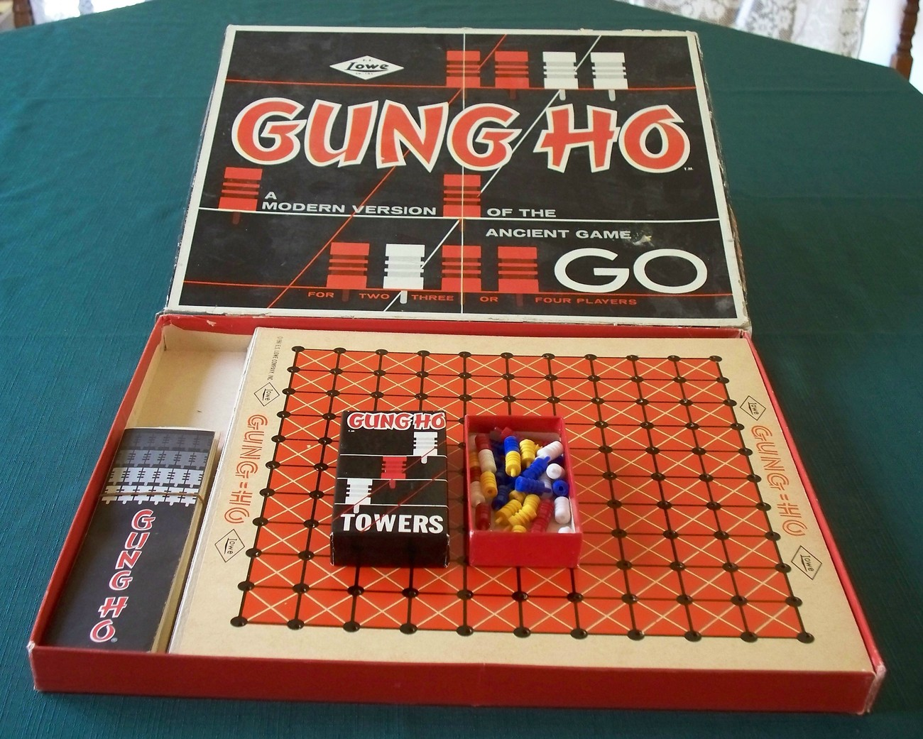 Gung Ho Game by E.S. Lowe 1961. Complete