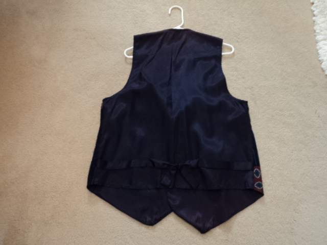 Blue Vest for Part of your Halloween Costume