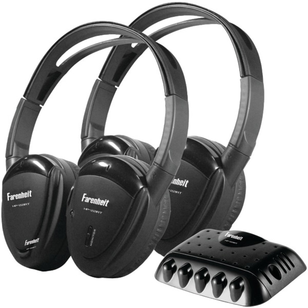 Primary image for Power Acoustik HP-22IRT 2 Sets of Single-Channel IR Wireless Headphones with Tra