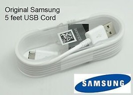 Original OEM 5 ft Samsung Galaxy Tab 3 Tab 4 7.0 8.0 10.1 USB Charger SY... - $14.41
