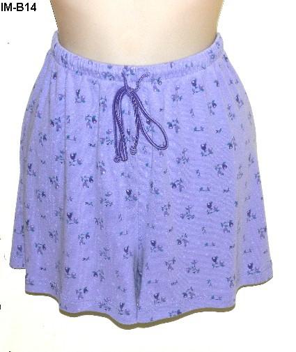 Moments Intimates Lilac 2 pc Pajama Set Size Large