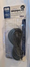 Belkin Modem Cable DB9 Female DB25 Male 10'  Serial IBM Compatible - $19.79