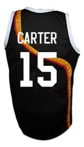 Vince Carter #15 Roswell Rayguns Basketball Jersey Sewn Black Any Size image 5