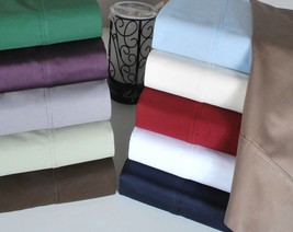 SUPER DEEP POCKET SHEET SET  1200TC 100%EGYPTIAN COTTON .CAL-KING SIZE - $60.76+