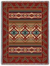 70x54 LAS CRUCES Southwest Tapestry Afghan Throw Blanket - $60.00