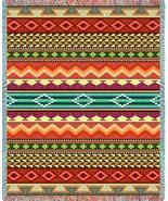 69x54 Southwest Western Striped Jacquard Throw Blanket - $60.00