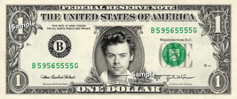 HARRY STYLES on REAL Dollar Bill One Direction Cash Money Memorabilia Celebrity - $8.88