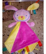 TAGGIES PATCHKIN BLANKIES Bunny Rabbit Blanket Security Lovey Baby Plush... - $29.69