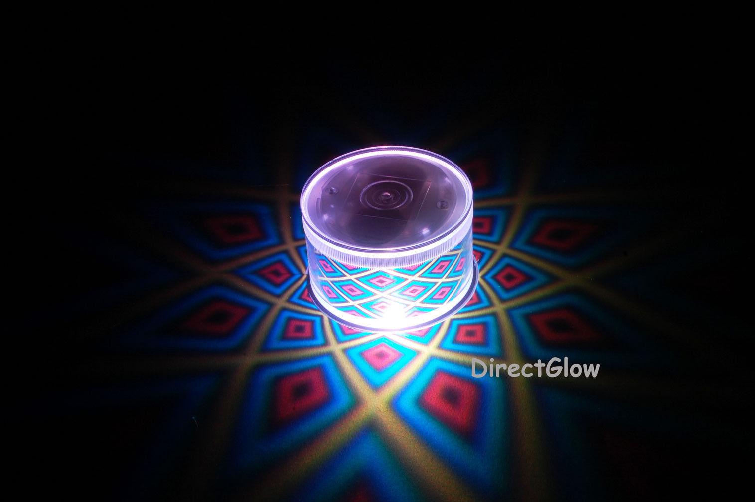 Set of 2 LiteRays LED Light Up Projection LitePod Drink Accessory- 5 Star - $14.50