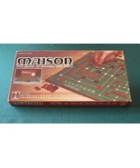 Maison Game Of Strategy And Logic Complete VGC 1977 Telchart - $15.00
