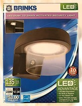 Brinks LED Dusk to Dawn Activated Security Light