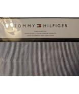 Tommy Hilfiger Ithaca Stripe Navy/White Sheet Set Queen - $61.00