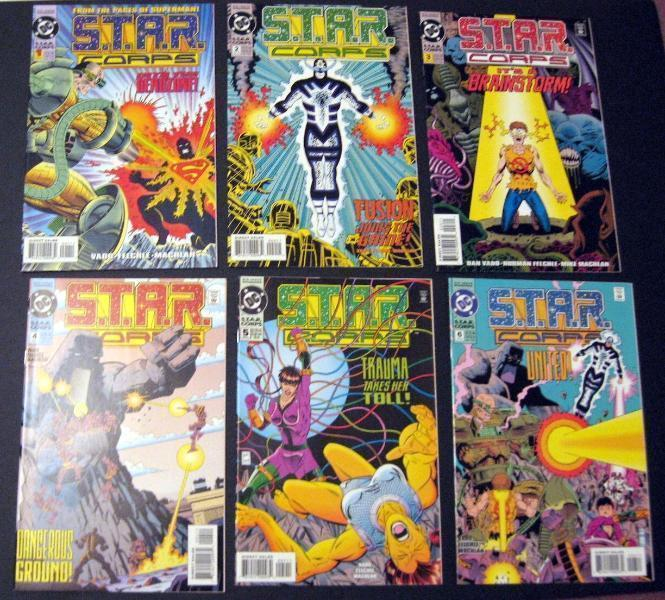 Primary image for S.T.A.R. Corps #1-6 Complete DC Miniseries Set