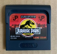 Jurassic Park Sega Game Gear GG Video Games Japan Import - $17.82