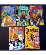 Ferret #1-4 Plus Oneshot Lot Malibu Ultraverse - $6.00