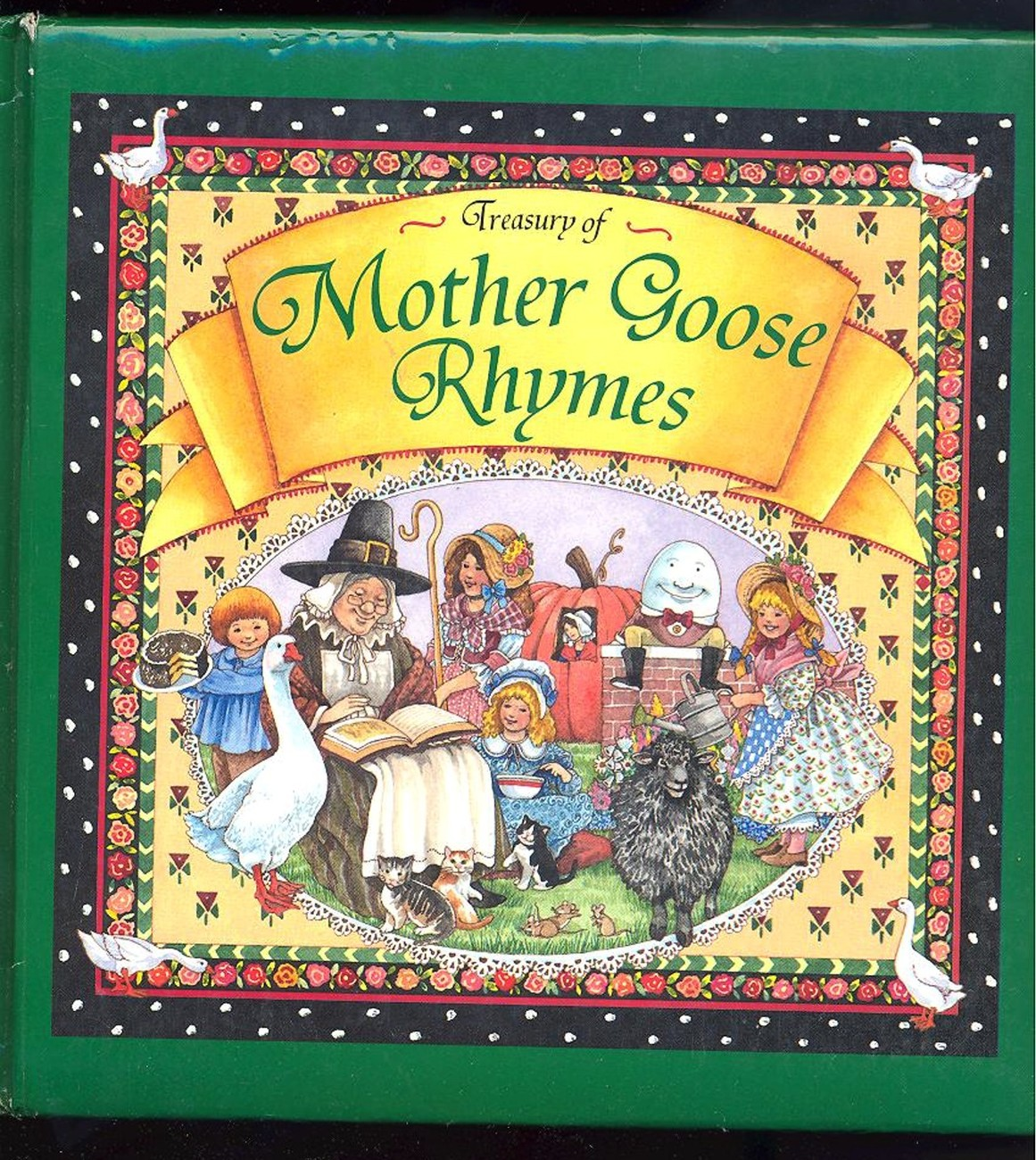 Primary image for A Treasury of Mother Goose Rhymes(1996) HB