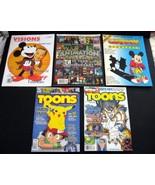 Cartoon Animation-Related Magazines Assortment Lot - $5.00