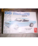 AMT COUNTDOWN 1966 FORD MUSTANG HARDTOP 1/25 66 70's FACTORY SEALED KIT ... - $37.99