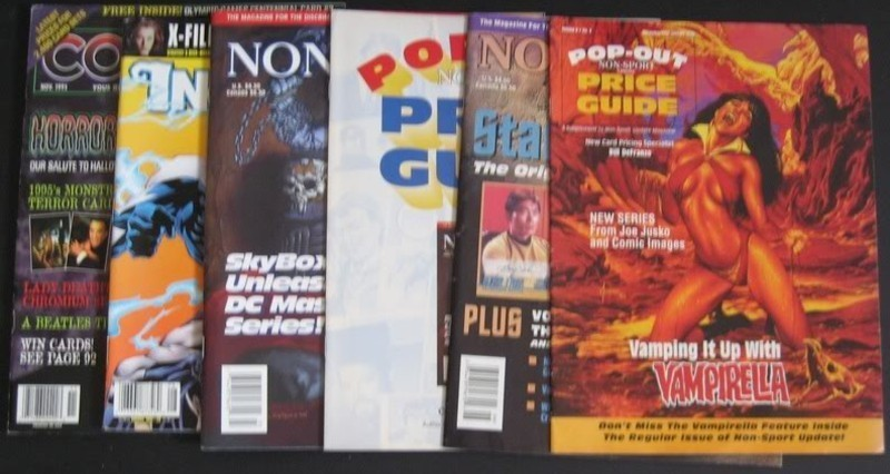 Cards Illustrated And Other Magazines Lot