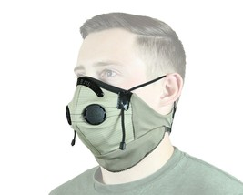Universal Fit Dust Face Masks Protective Adjustable Design w/ One Valves... - $43.68